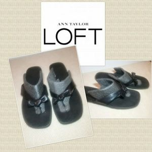 NWOT Ann Taylor Loft Leather Sandals Sz. 8